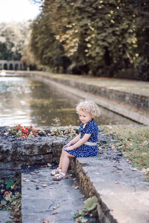 familieshoot meisje water