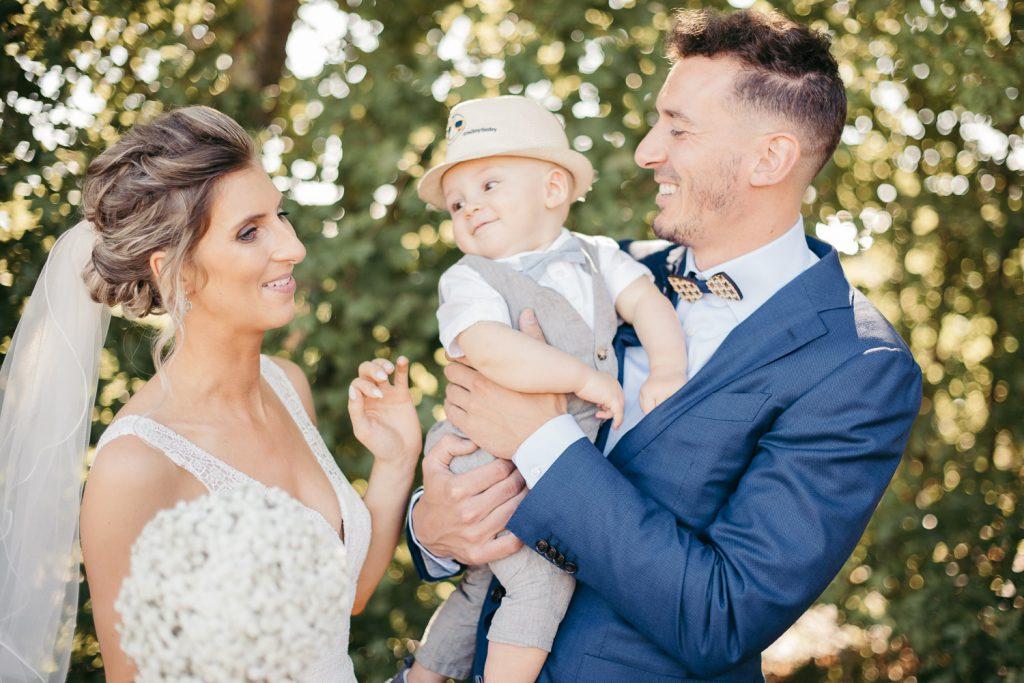 trouwfotografie koppelshoot baby zoon